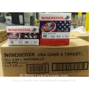 "Bulk 12 Gauge Ammo For Sale - 2-3/4"" 1oz. #7.5 Shot Ammunition in Stock by Winchester USA Game & Target - 250 Rounds"
