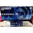 Premium 450 Bushmaster Ammo For Sale - 300 Grain JHP Ammunition in Stock by Federal Power-Shok - 20 Rounds