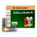 """12 ga Ammo For Sale - 2-3/4"""" 00 Buck Ammunition by Sellier & Bellot"""