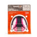 Champion Slim Pink Passive Earmuffs For Sale - 21 NRR - Champion Hearing Protection in Stock