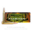 300 Winchester Magnum Ammo For Sale - 180 gr Fusion Bullets - Federal Fusion Ammo Online