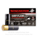 """Cheap 12 ga #2 Shot For Sale - 3"""" #2 Shot Ammunition by Winchester - 25 Rounds"""