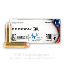 Bulk 450 Bushmaster Ammo For Sale - 300 Grain JHP Ammunition in Stock by Federal Non-Typical - 200 Rounds