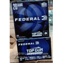 """Cheap 20 Gauge Ammo For Sale - 2-3/4"""" 7/8oz. #7.5 Shot Ammunition in Stock by Federal Top Gun Sporting - 25 Rounds"""