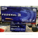 Premium 223 Rem Ammo For Sale - 53 Grain V-MAX Ammunition in Stock by Federal Varmint & Predator - 20 Rounds