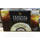 Premium 223 Rem Ammo For Sale - 55 Grain SP Ammunition in Stock by Federal LE Tactical Bonded - 20 Rounds