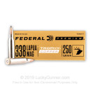 Premium 338 Lapua Magnum Ammo For Sale - 250 Grain Trophy Copper Ammunition in Stock by Federal - 20 Rounds