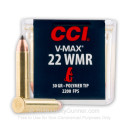 Cheap 22 WMR Ammo For Sale - 30 Grain Polymer Tip - CCI V-Max Ammunition In Stock - 50 Rounds