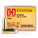 44 Magnum Ammo For Sale - 200 gr JHP XTP Hornady Ammunition In Stock - 20 Rounds