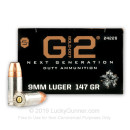 Premium 9mm Ammo For Sale - 147 Grain JHP Ammunition in Stock by Speer Gold Dot G2 - 20 Rounds