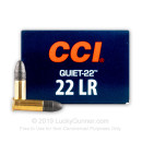 22 LR Quiet Ammo For Sale - 40 gr LRN - CCI  Ammunition In Stock - 50 Rounds