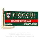 300 Winchester Magnum Ammo For Sale - 150 gr SPBT - Fiocchi Ammo Online