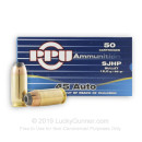 Bulk 45 ACP Ammo For Sale - 185 Grain SJHP Ammunition in Stock by Prvi Partizan - 500 Rounds