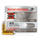 45 LC Ammo For Sale - 255 gr LRN - Winchester Super-X Ammunition In Stock - 20 Rounds