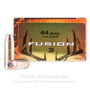 Cheap 44 Mag Lever Rifle Ammo For Sale - 240 gr Federal Fusion Ammo Online - 20 Rounds