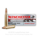 Cheap 300 Winchester Magnum Ammo For Sale - 150 Grain Power-Point Ammunition in Stock by Winchester Super-X - 20 Rounds