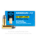 32 S&W Long Ammo For Sale - 98 gr LRN Prvi Partizan 32 S&W Long Ammunition by Prvi Partizan For Sale - 500 Rounds