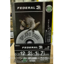 """Cheap 12 Gauge Ammo For Sale - 2-3/4"""" 1-1/8oz. #7.5 Shot Ammunition in Stock by Federal Upland Steel - 25 Rounds"""