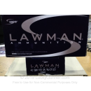 Bulk 40 S&W Ammo For Sale - 165 Grain TMJ FN Ammunition in Stock by Speer Lawman Clean-Fire - 1000 Rounds