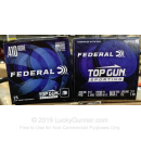 """Cheap 410 Gauge Ammo For Sale - 2-1/2"""" 1/2oz. #7.5 Shot Ammunition in Stock by Federal Top Gun Sporting - 25 Rounds"""