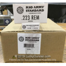 Bulk 223 Rem Ammo For Sale - 55 Grain FMJ Ammunition in Stock by Red Army Standard - 1000 Rounds