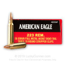 223 Remington Ammo For Sale - 55 gr FMJ-BT - Ammunition In Stock by Federal - 30 Rounds