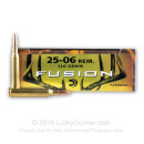 25-06 Remington Ammo For Sale - 120 gr - Federal Fusion Ammo Online
