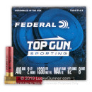 "Cheap 410 Gauge Ammo For Sale - 2-1/2"" 1/2oz. #8 Shot Ammunition in Stock by Federal Top Gun Sporting - 25 Rounds"
