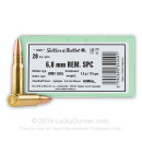 Cheap 6.8 Remington SPC Ammo For Sale - 115 Grain BTHP Ammunition in Stock by Sellier & Bellot - 20 Rounds