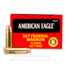 327 Federal Magnum Ammo For Sale - 85 gr SP Federal American Eagle Ammo Online