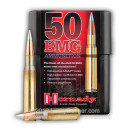 Match 50 Cal BMG Hornady Ammo For Sale - 750 grain AMAX Match Ammunition in Stock - 10 Rounds