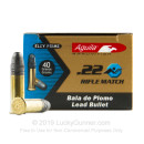 Bulk 22 LR Ammo For Sale - 40 Grain LRN Ammunition in Stock by Aguila Rifle Match Competition - 5000 Rounds
