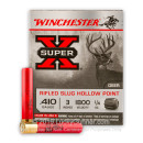 """Cheap 410 Gauge Ammo For Sale - 3"""" 1/4 oz. Rifled Slug Ammunition in Stock by Winchester - 5 Rounds"""