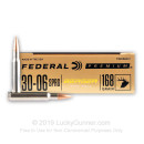 Premium 30-06 Ammo For Sale - 168 Grain Berger Hybrid Hunter Ammunition in Stock by Federal - 20 Rounds