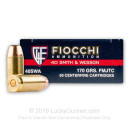 Bulk 40 Cal Ammo For Sale - 170 gr FMJ-FN Fiocchi Ammunition