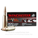 Premium 300 Winchester Short Magnum Ammo For Sale - 180 Grain PHP Ammunition in Stock by Winchester Power Max Bonded - 20 Rounds