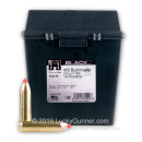 Cheap 450 Bushmaster Ammo For Sale - 250 Grain FTX Ammunition in Stock by Hornady BLACK - 150 Rounds in Field Box