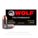 Bulk 45 ACP Ammo - 230 grain FMJ - Wolf WPA - In Stock TODAY - 500 Rounds