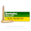 30-06 Ammo For Sale - 220 gr SP - Remington Core-Lokt Ammo Online