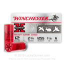 "Bulk 12 Gauge Ammo - Winchester Super-X Game & Field 2-3/4"" #6 Shot - 250 Rounds"