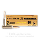 Premium 6.5 Creedmoor Ammo For Sale - 135 Grain Berger Hybrid Hunter Ammunition in Stock by Federal - 20 Rounds