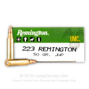 Bulk 223 Rem Ammo For Sale - 50 gr JHP Ammunition In Stock by Remington UMC