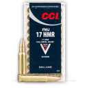 Cheap 17 HMR Ammo For Sale - 20 gr - CCI Small Game Ammunition In Stock - 50 Rounds