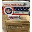 Bulk 40 S&W Ammo For Sale - 180 Grain FMJ Ammunition in Stock by Winchester USA Target Pack - 500 Rounds