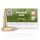Cheap 5.56x45mm Ammo In Stock - 62gr FMJ CBC Ammunition For Sale Online