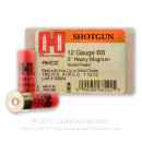 "Premium 12 Gauge Ammo For Sale - 3"" 1-1/2 oz. BB Shot Ammunition in Stock by Hornady Heavy Magnum Coyote - 10 Rounds"