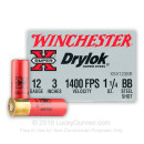 "Cheap 12 ga BB Shot For Sale - 3"" BB Shot Ammunition by Winchester - 25 Rounds"