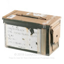 50 Cal M2A1 Green Used Mil-Spec Ammo Cans For Sale