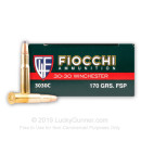 30-30 Ammo For Sale - 170 gr FSP - Fiocchi - 20 Rounds