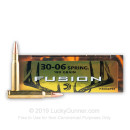 Bulk 30-06 Ammo For Sale - 180 Grain Fusion Ammunition in Stock by Federal - 200 Rounds